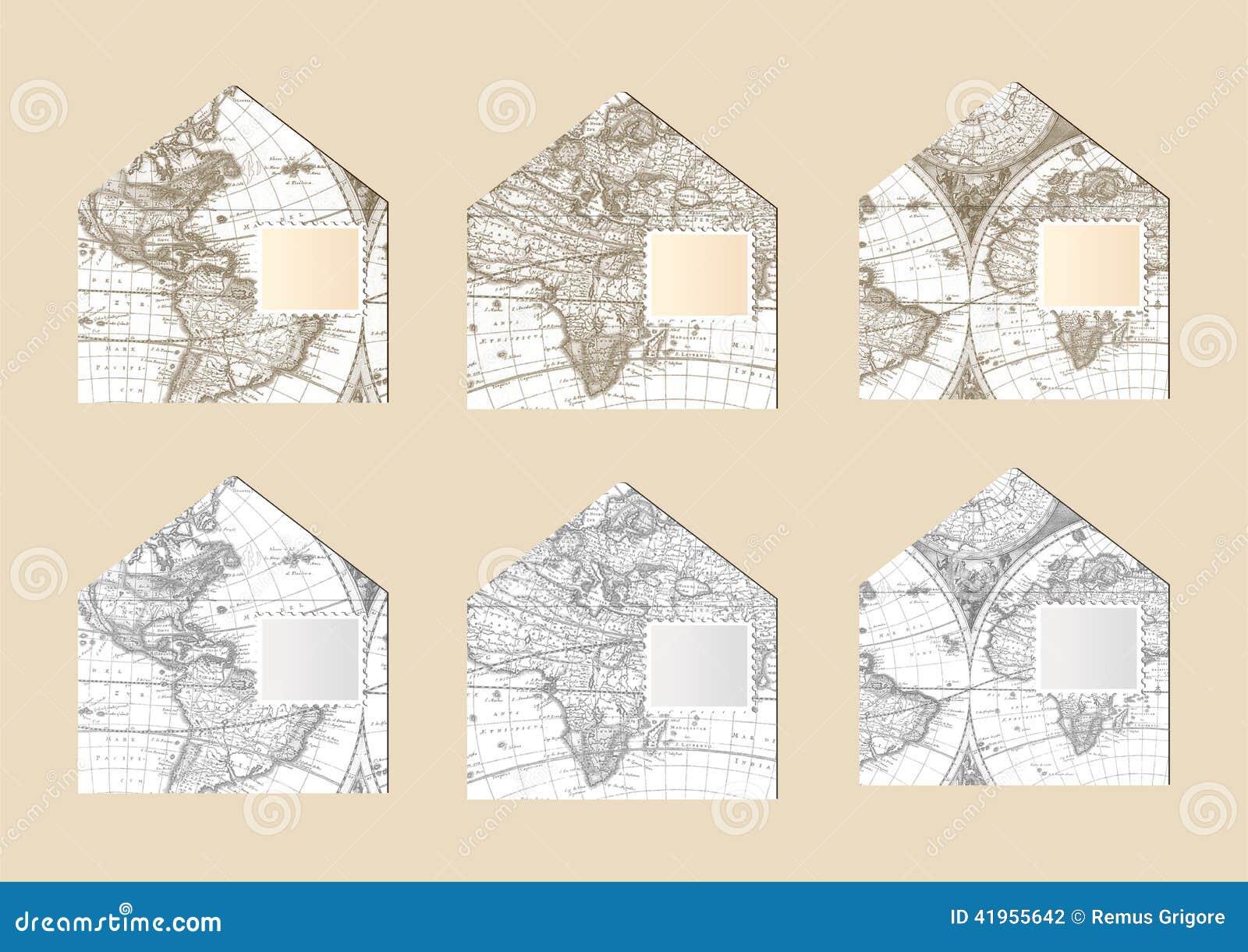 Stare map koperty