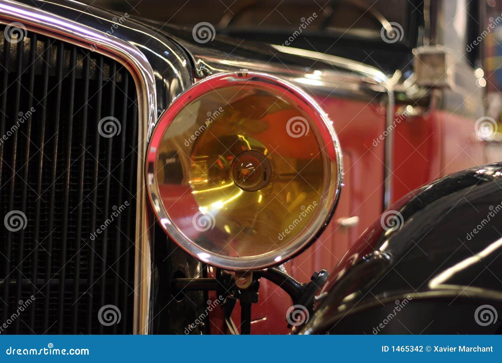 Stare samochody światło