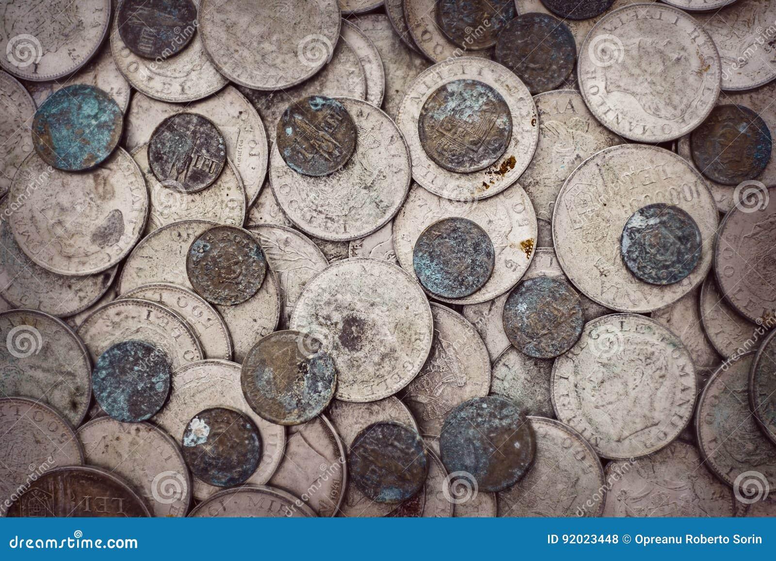 Stare utleniać monety