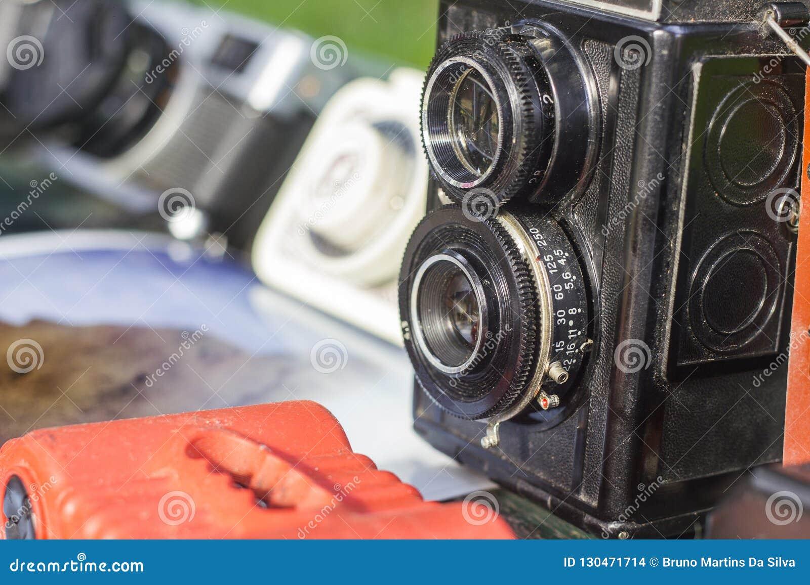 Stare zdjęcie kamery