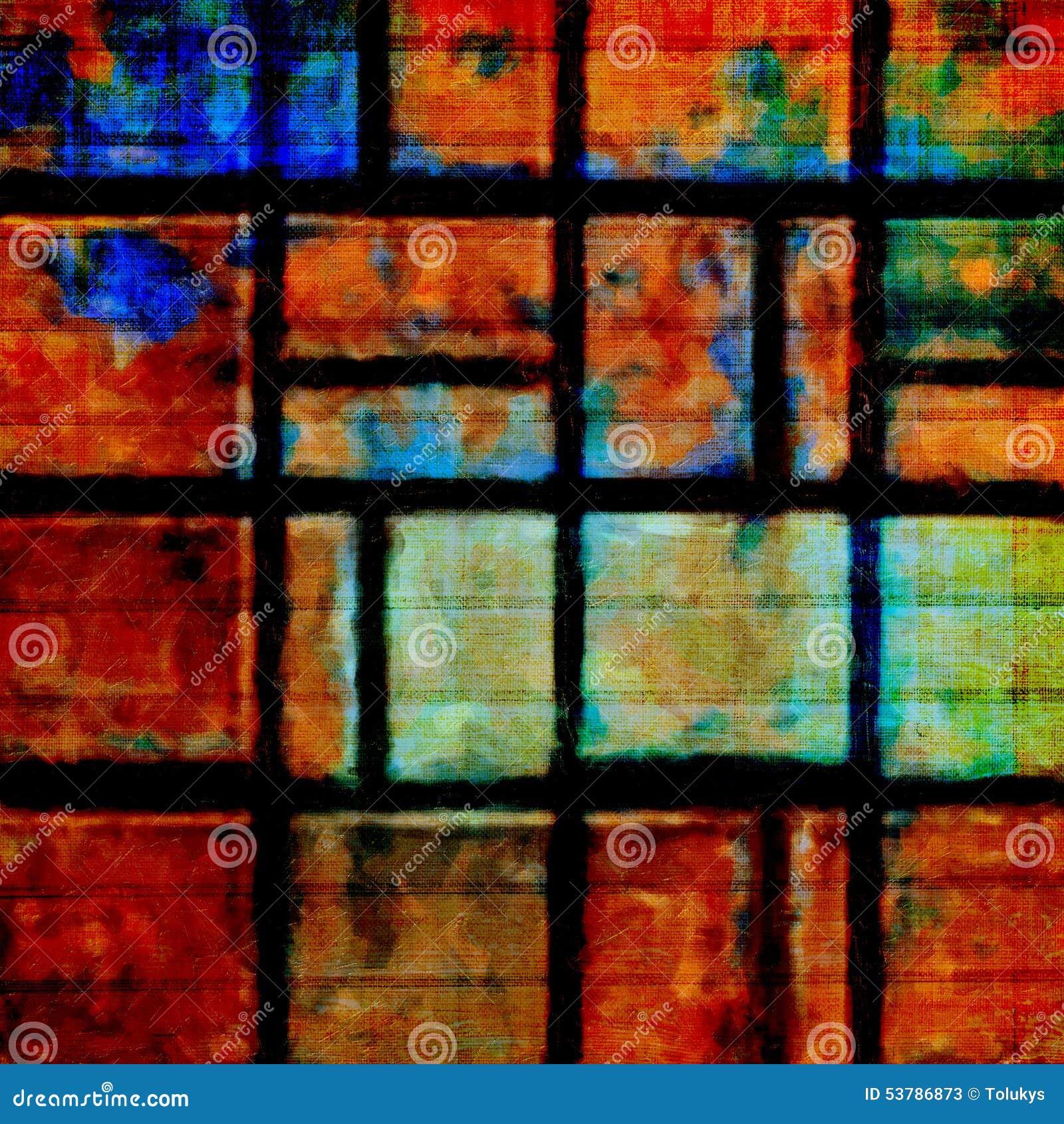 Starego koloru grunge abstrakcjonistyczny tło z teksturą