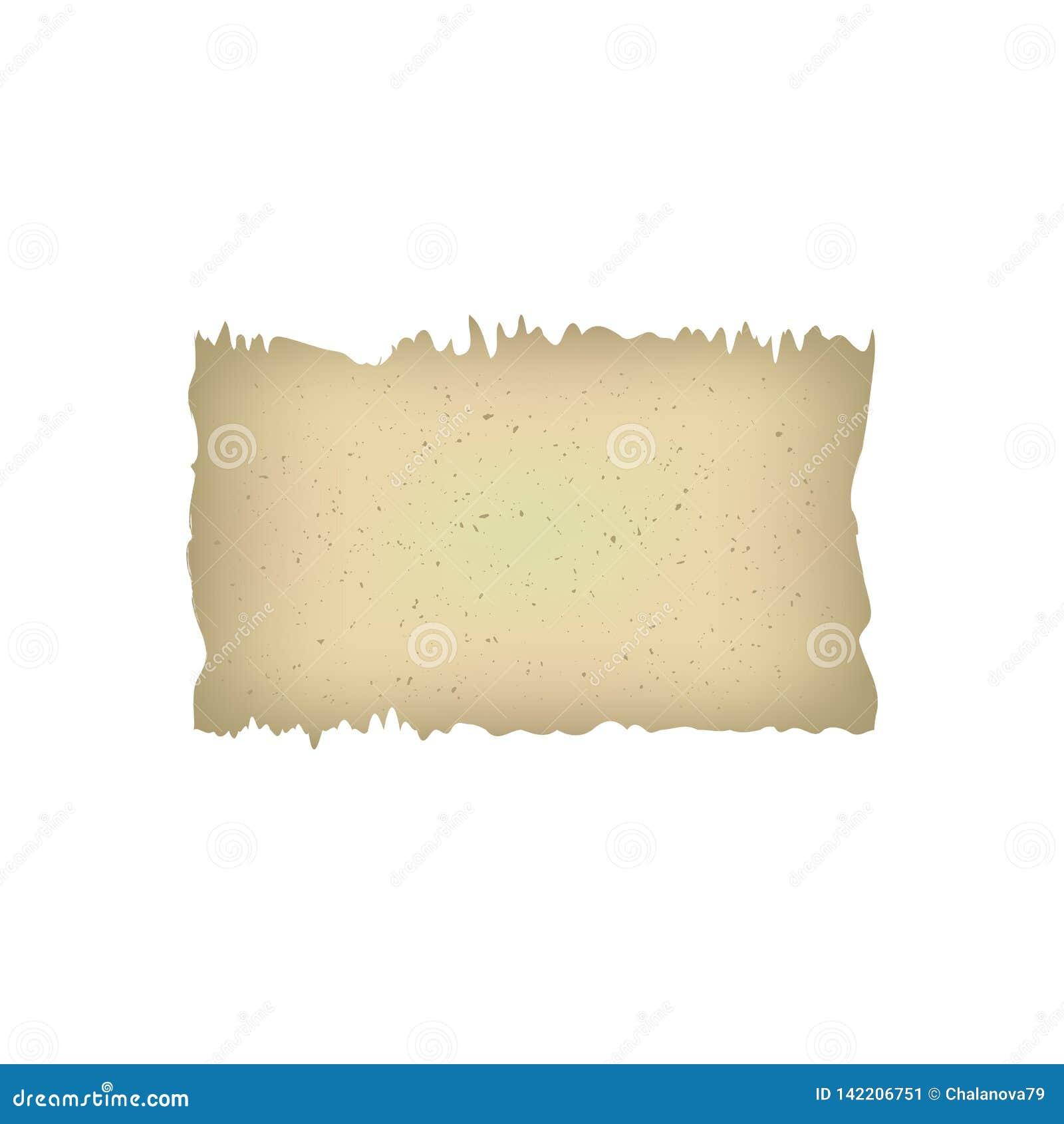 Starego papierowego antycznego rocznika strony papersheet dokumentu antykwarska papirusowa rękopiśmienna retro ilustracja Tło dla