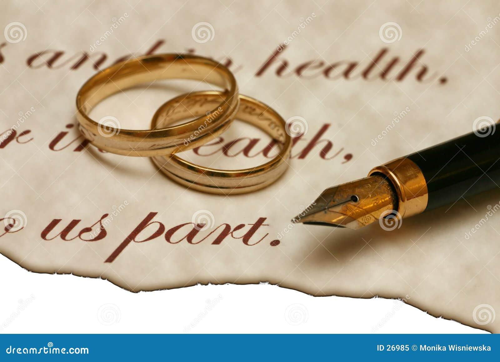 Starego stylu ślub