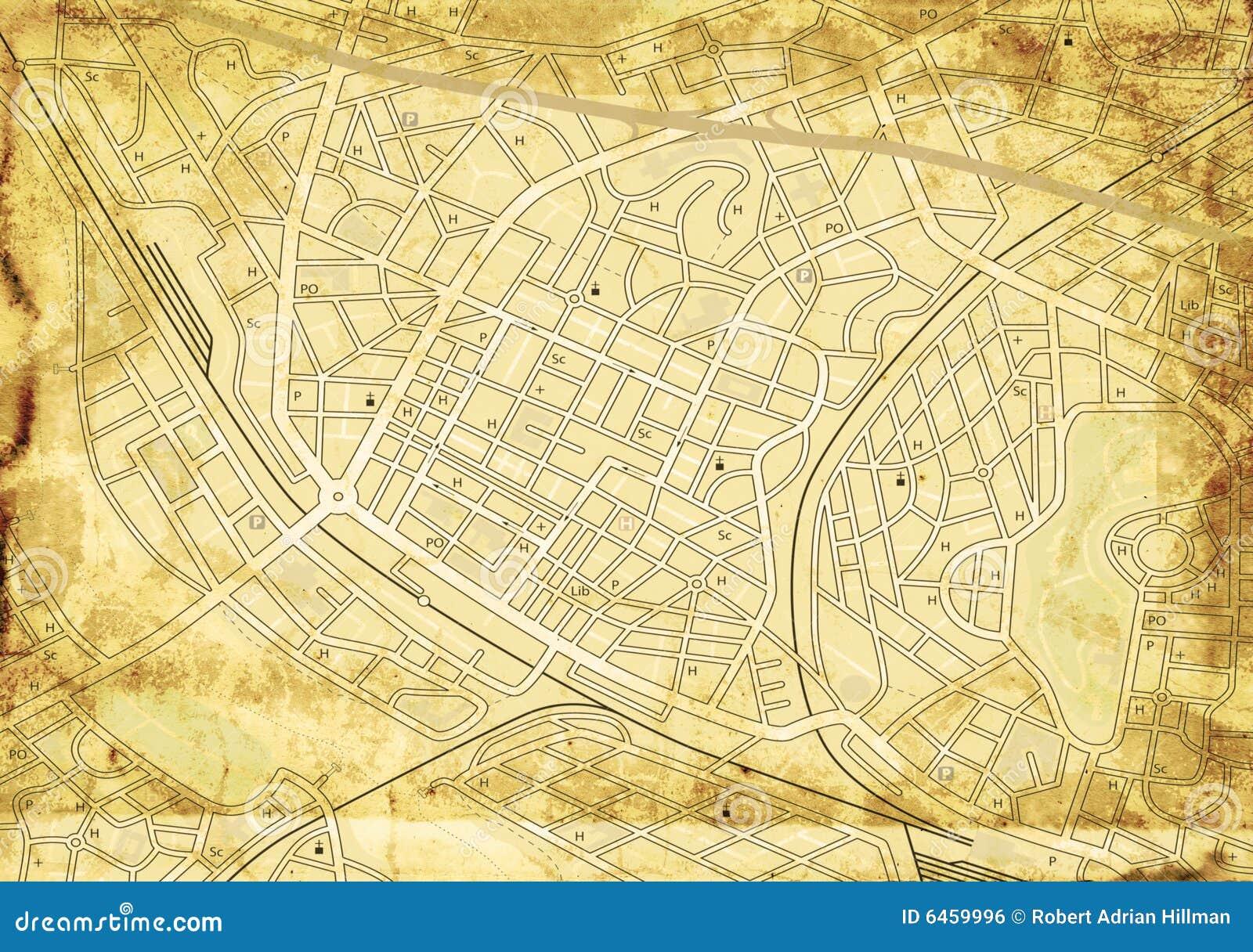 Starej mapy street