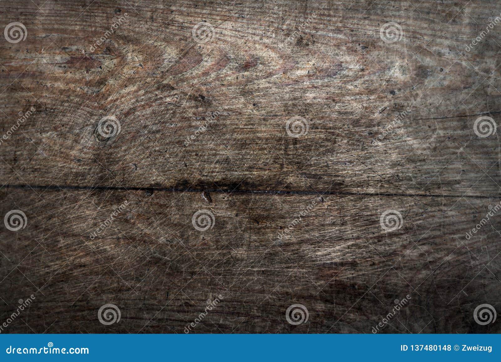 Starej sosnowego drewna grunge podłogowych desek pęknięcia wzoru powierzchni tekstury abstrakcjonistyczny tło