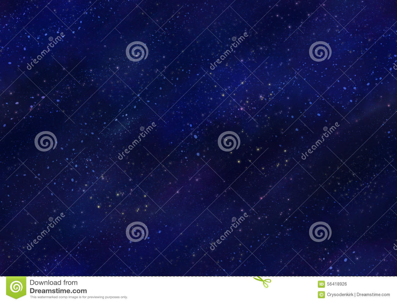 Starfield Night Sky Seamless Tile