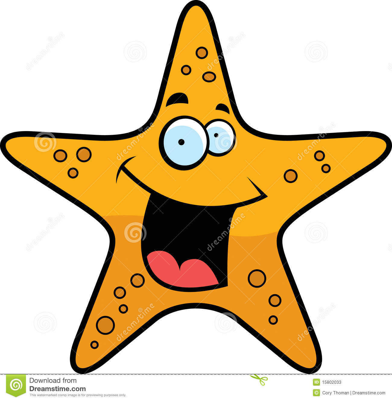 Starfish Smiling Stock Photos - Image: 15802033