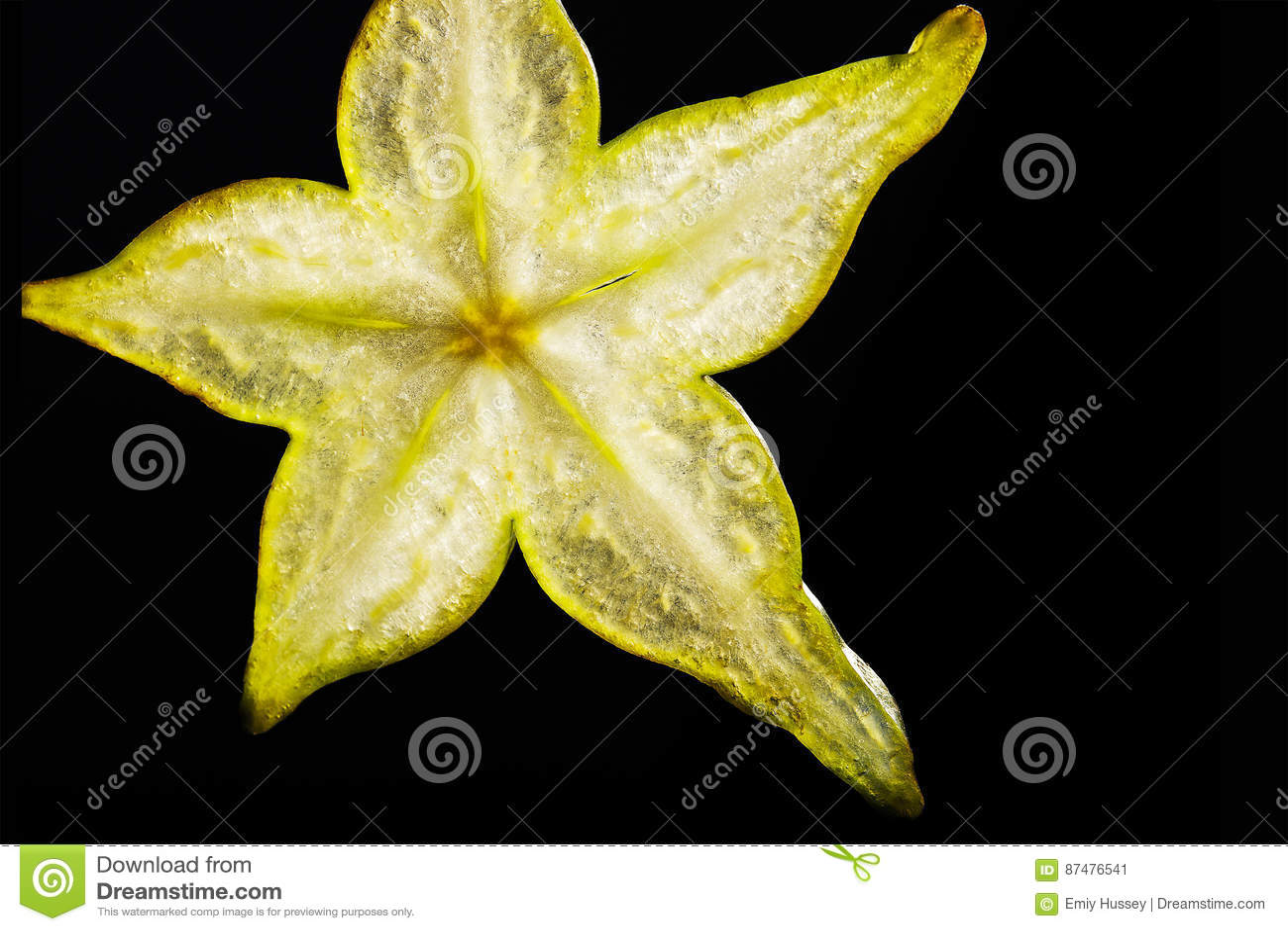 Starfruit plasterek