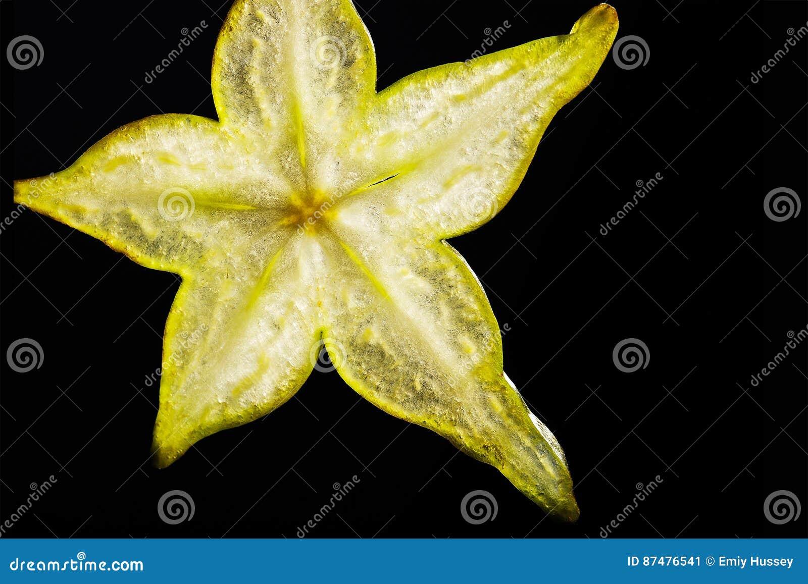 Starfruit skiva