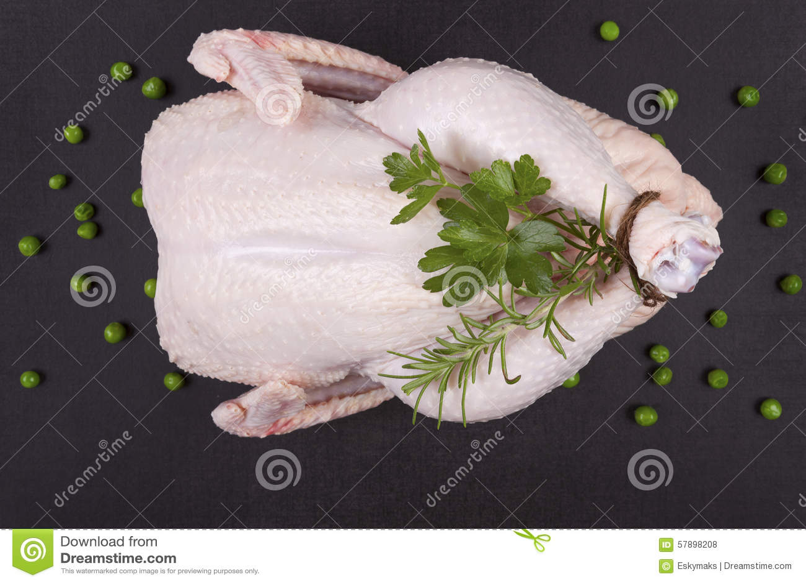 Stark całego kurczaka