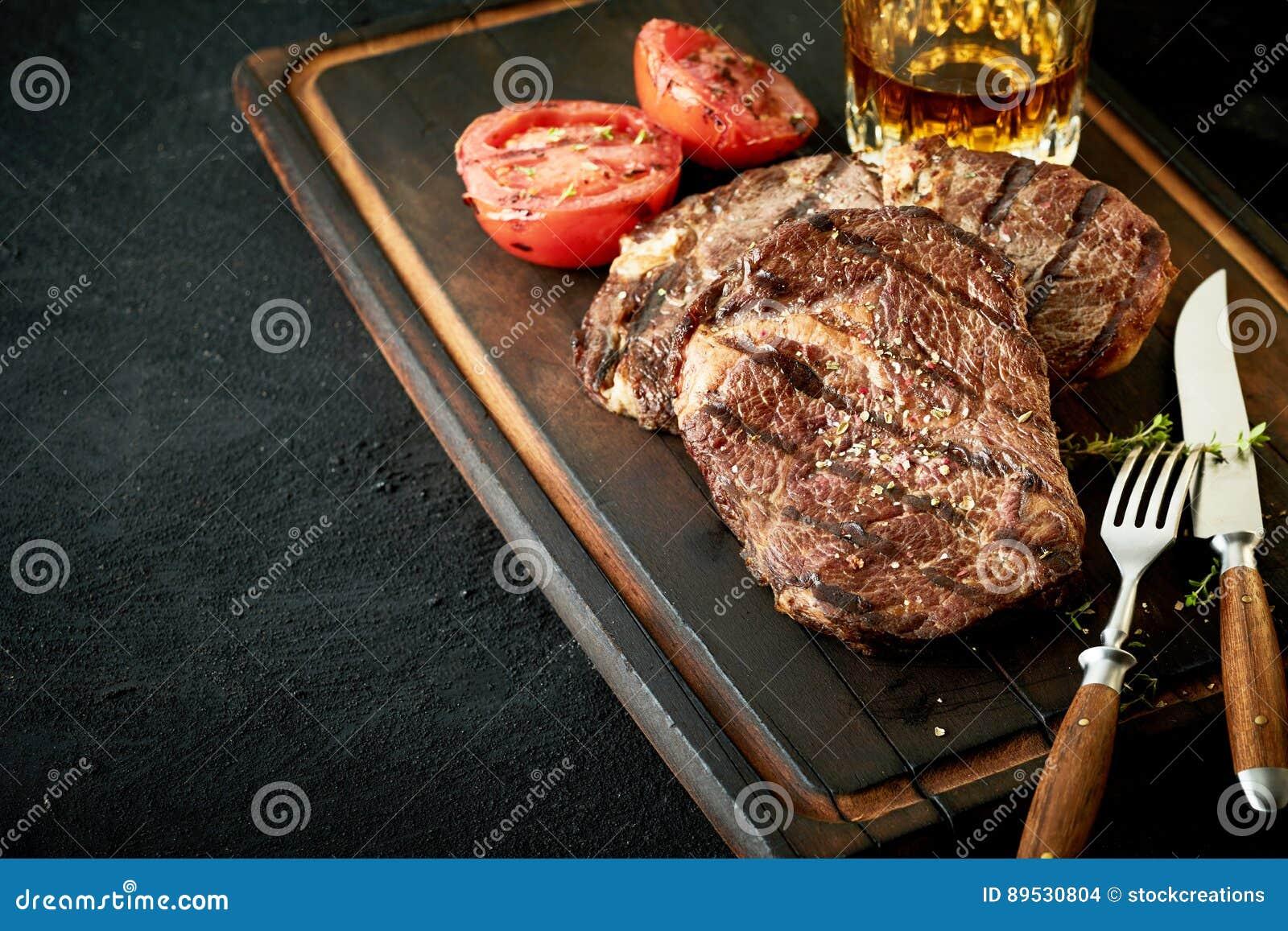 Starkes Angebot grillte Hinterteil- oder Lendenstückrindfleischsteak