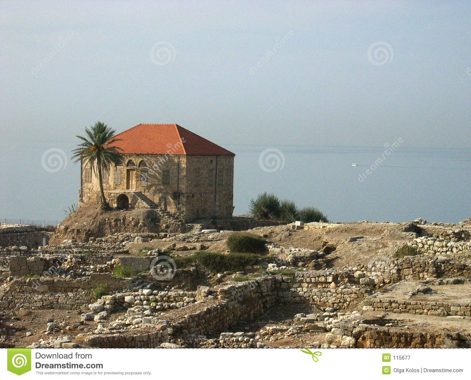 Starożytne miasto byblos Lebanon