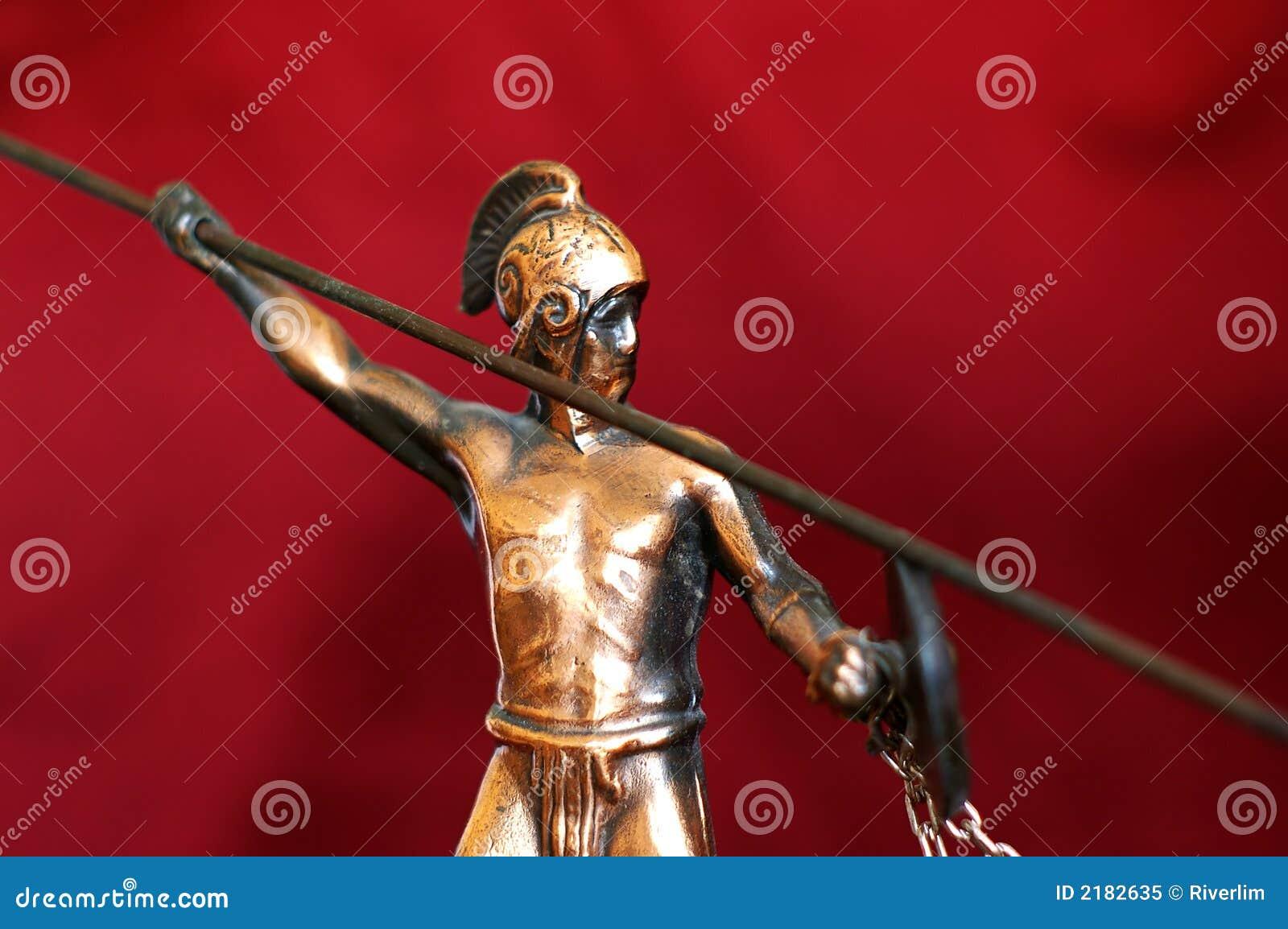 Starogreckie wojownik