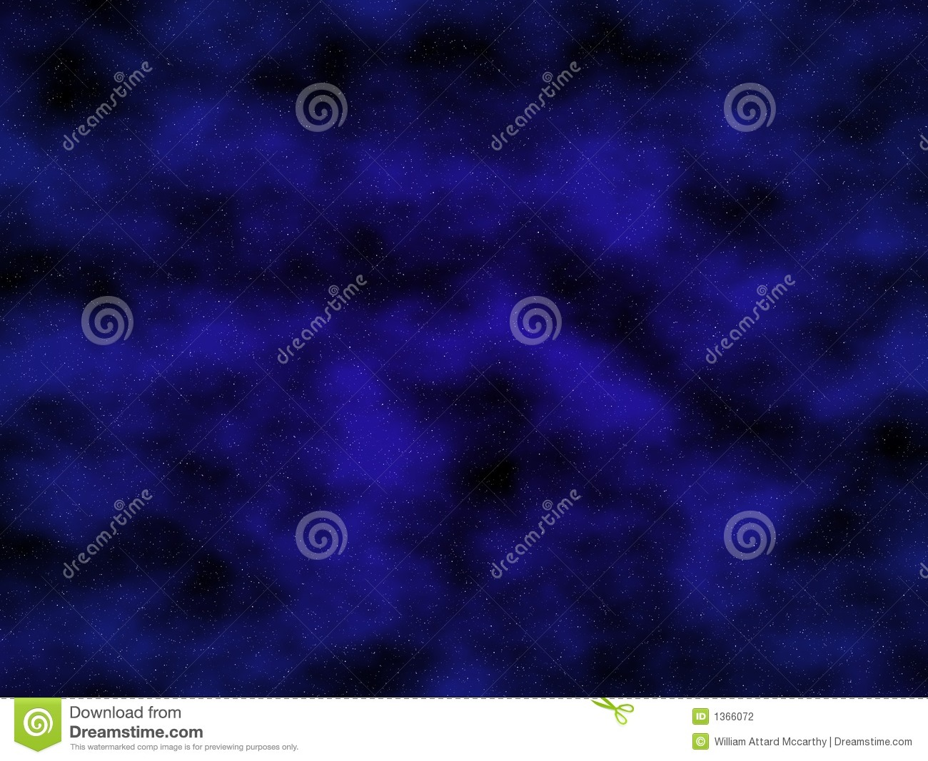 Starry Night Background Stock Photography