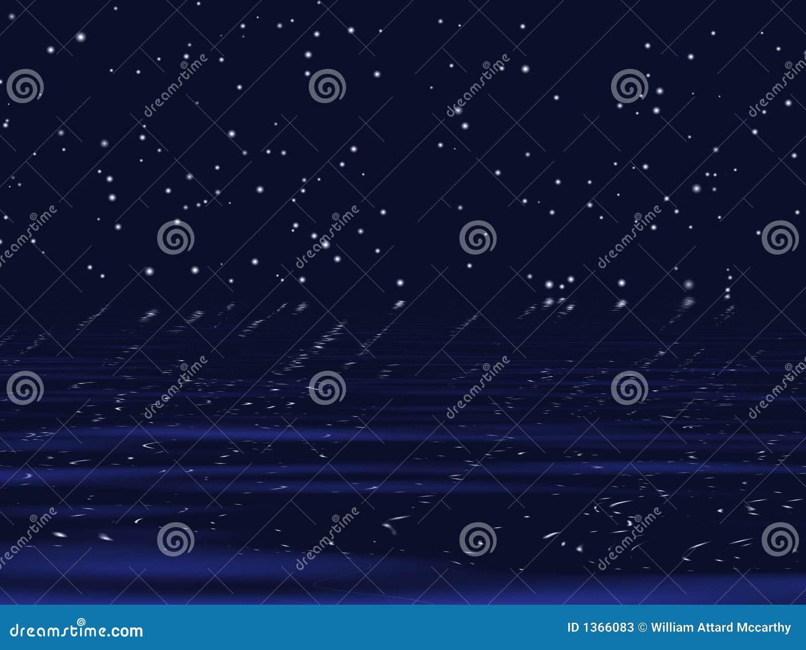 Starry Night Background Stock Photos