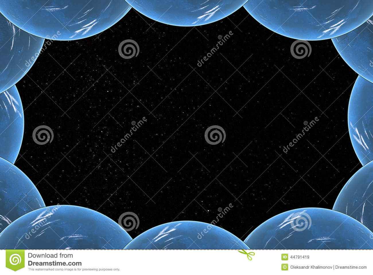 starry sky with planets - photo #27