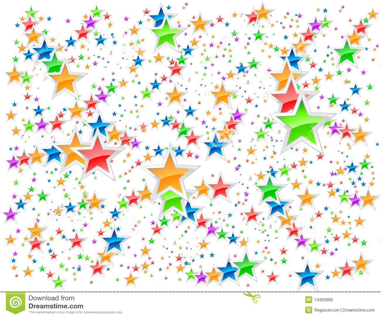 Stars background stock vector. Image of decoration, light ...