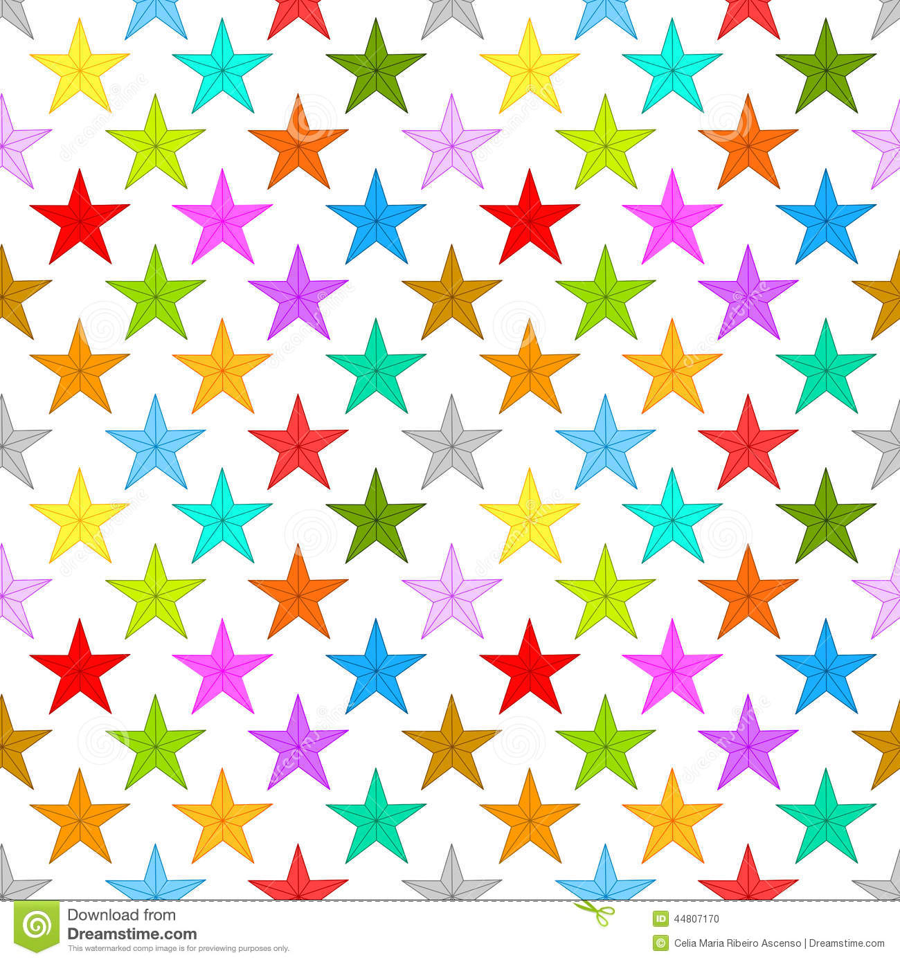Stars Background Seamless Pattern Stock Illustration ...