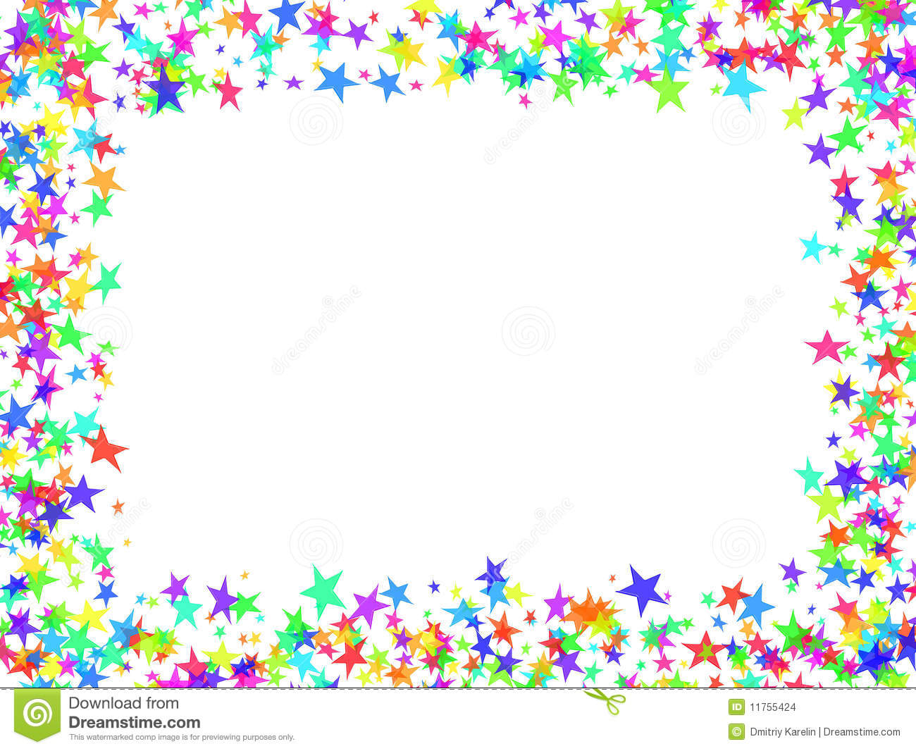 Stars Frame Stock Photo Image Of Festive Occasion