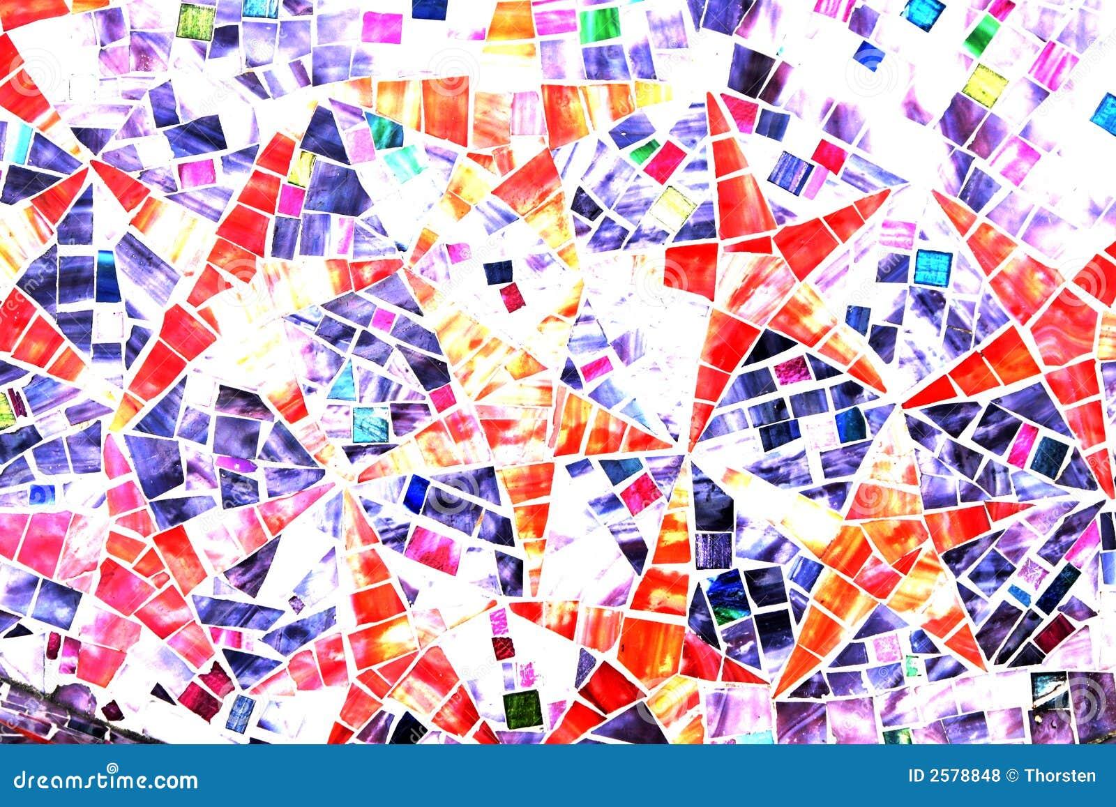 Stars - Mosaic Abstract Backgr