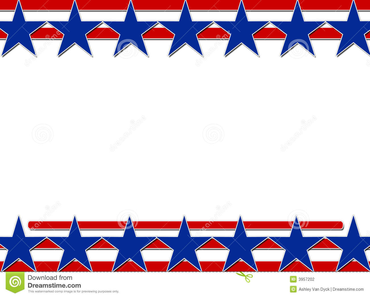 Stars And Stripes Background Stock Photography Image