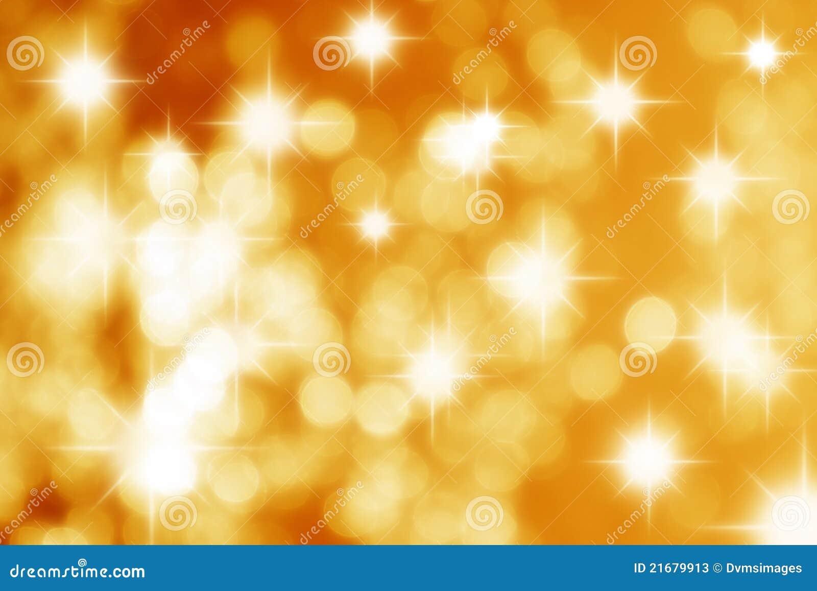 Stars Yellow Background