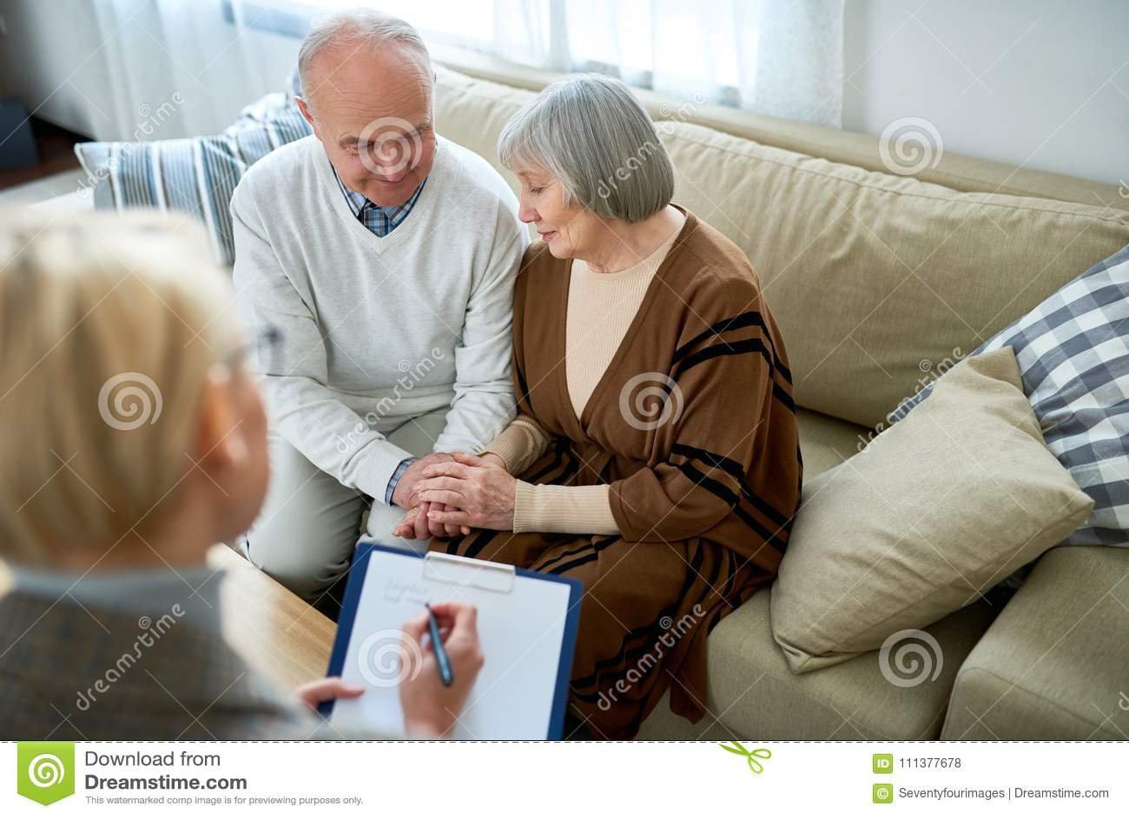 Starsza para w terapii