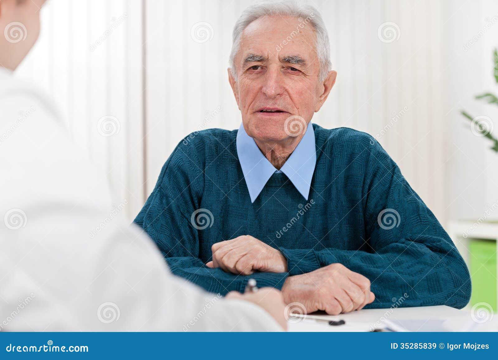Starszy pacjent