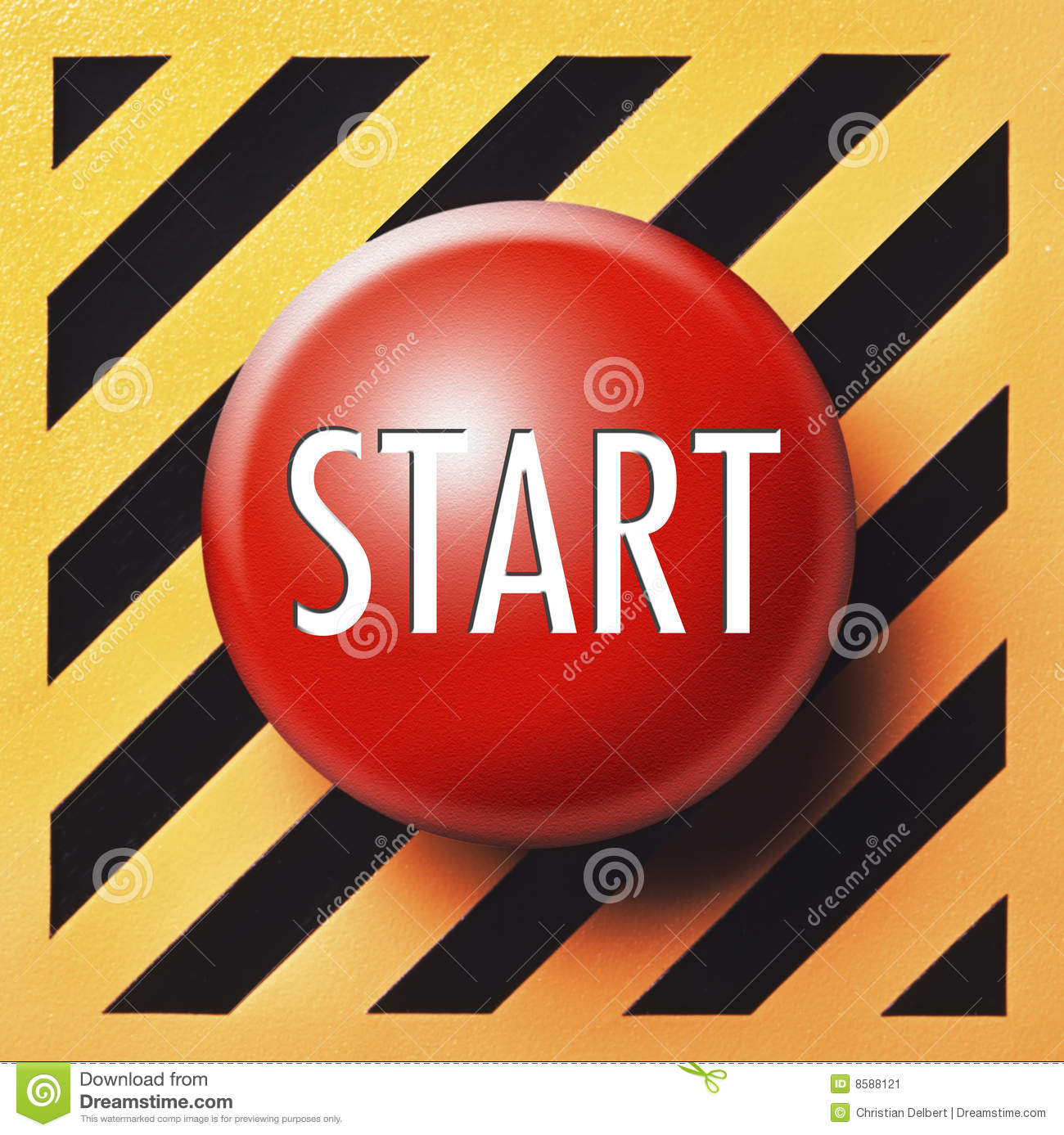 Start Button Stock Image Image 8588121