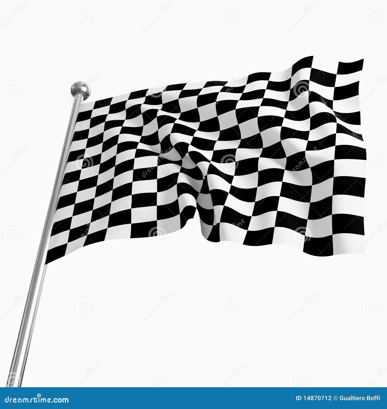 Start Flag Stock Graphy Image