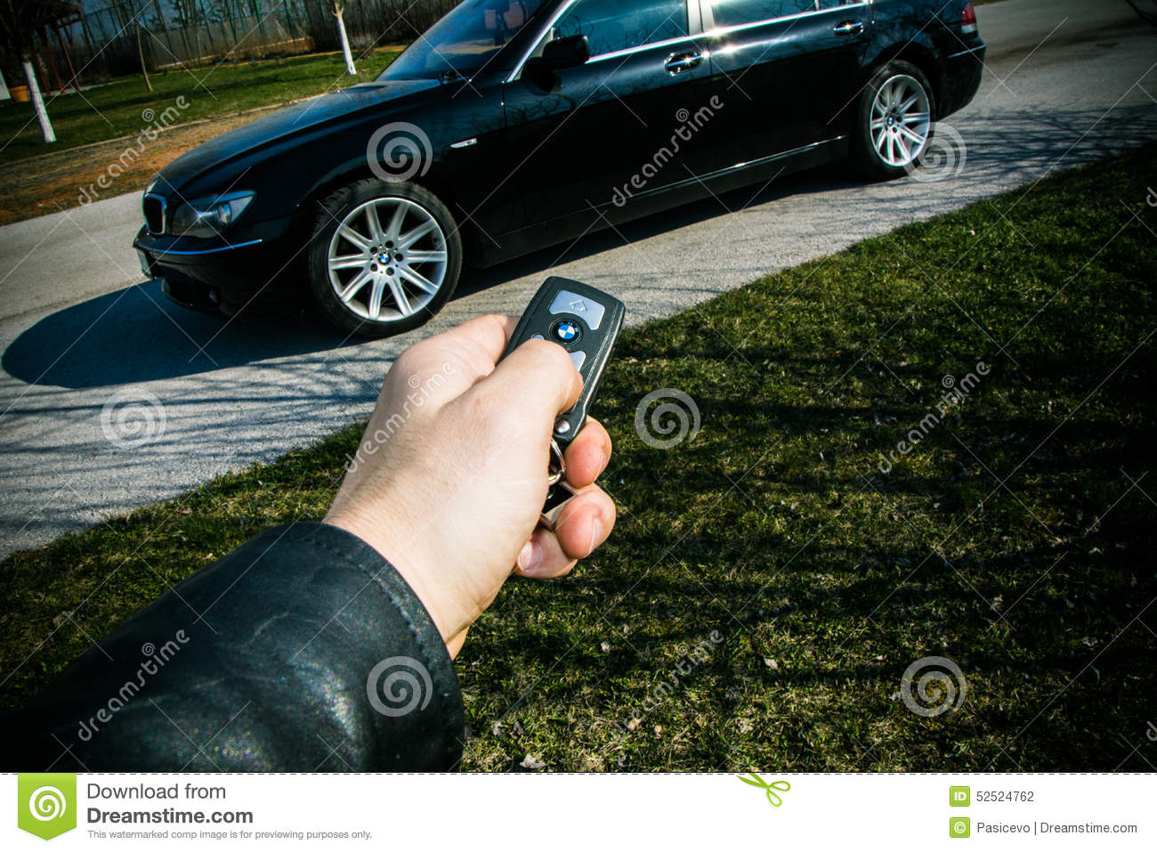 Download Start Key Of BMW 750 In A Male Hand Editorial Photography - Image of farm, land: 52524762