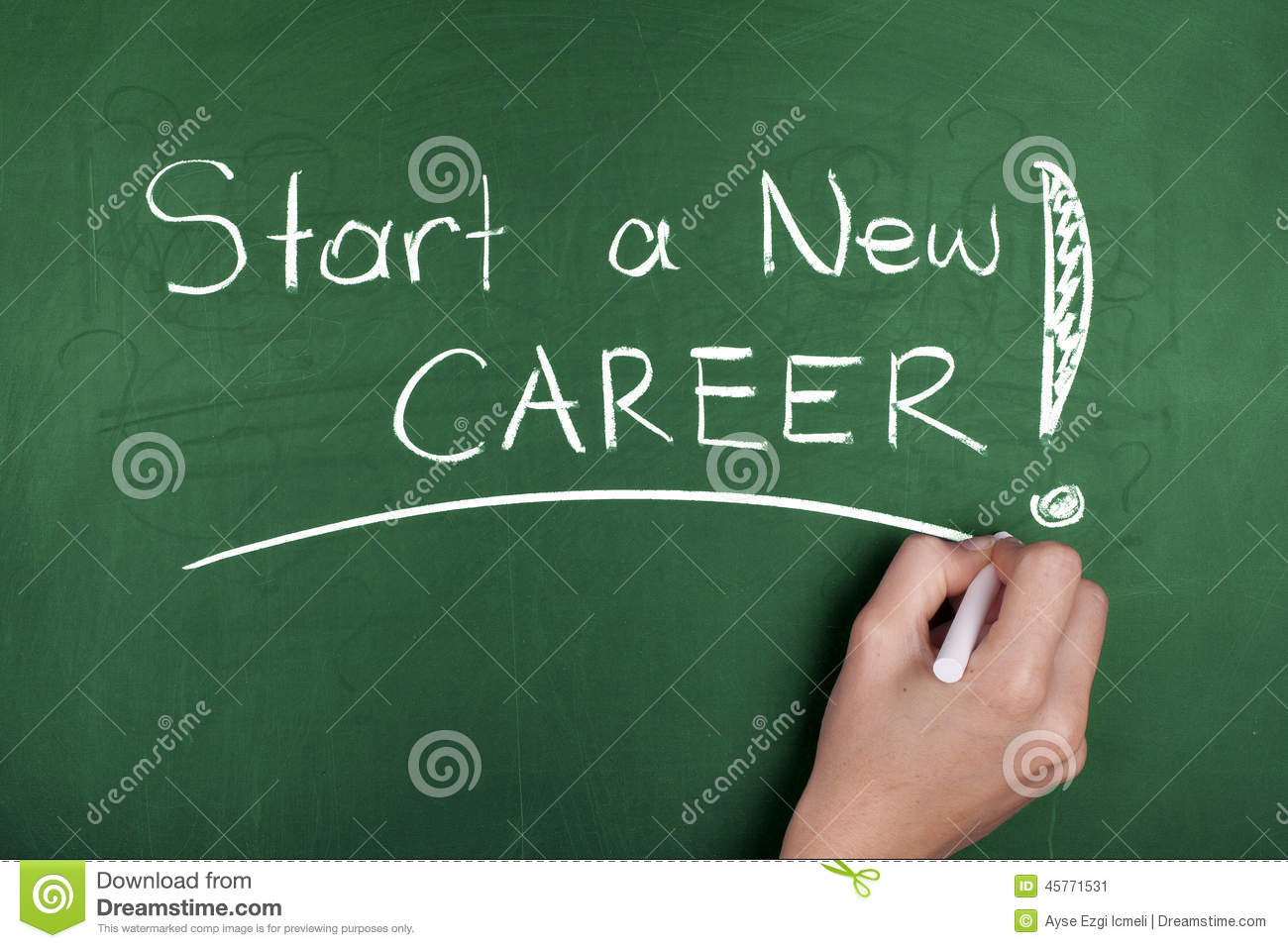 Start A New Career Stock Photo - Image: 45771531