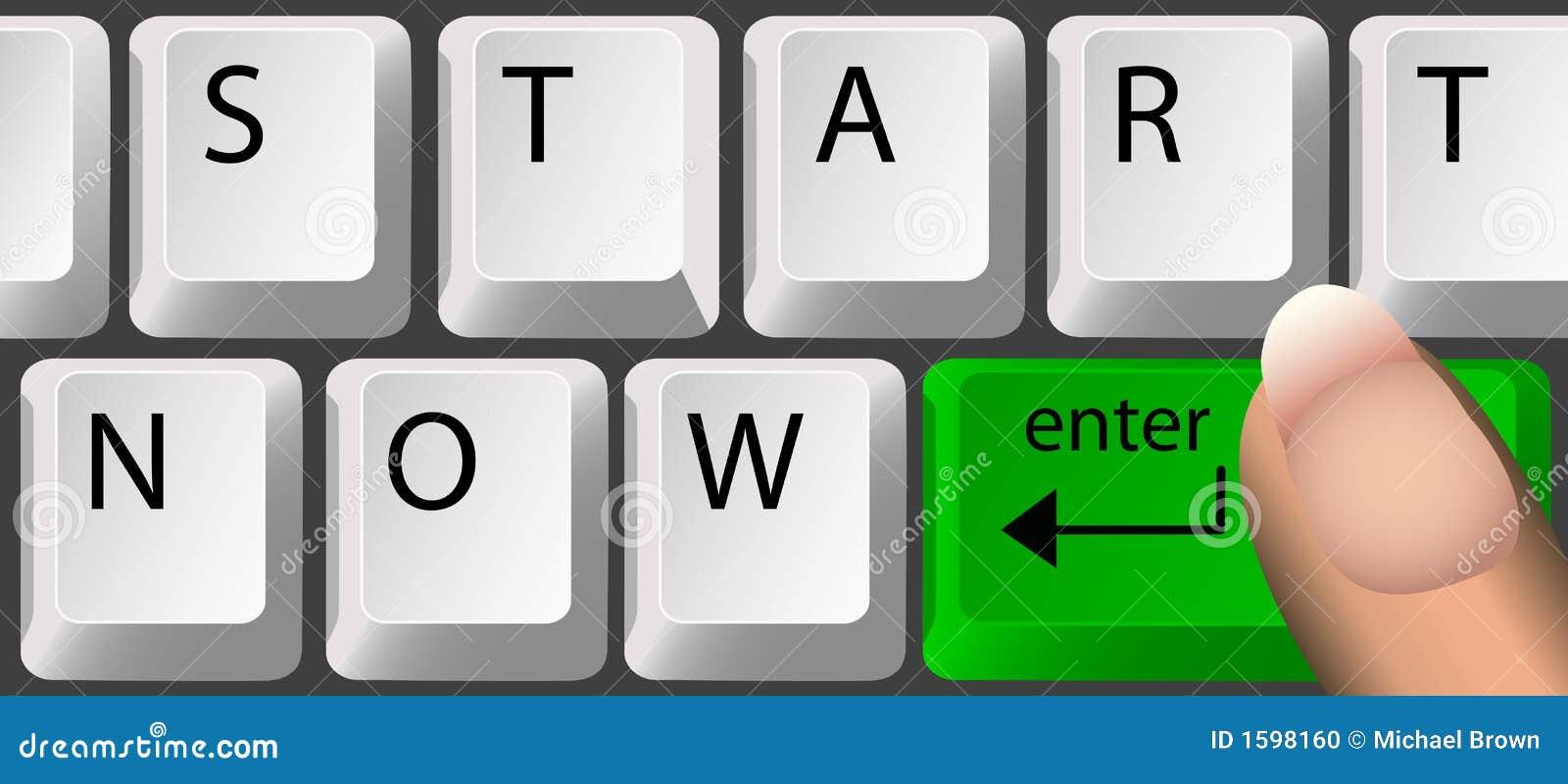 START NOW, Keyboard