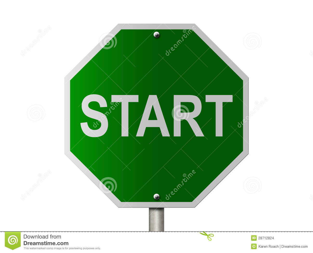 start sign stock images image 28712824 clipart database download clipart database download