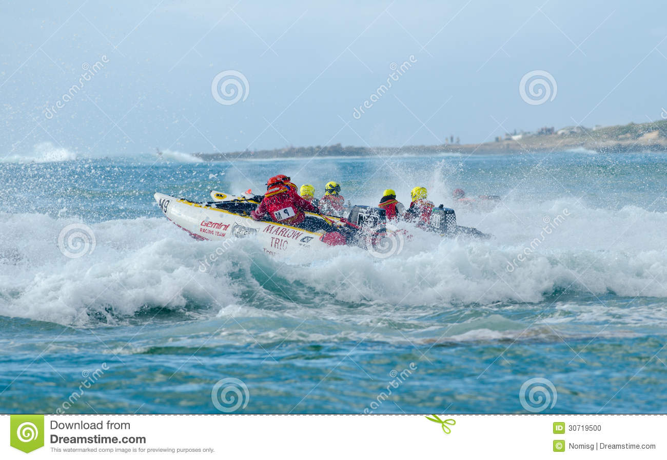 Stilbaai South Africa  city photo : STILBAAI,SOUTH AFRICA DEC. 30: A crowded wave shortly after the start ...