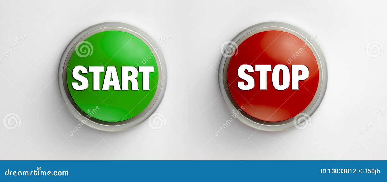 start stop buttons stock illustration illustration of press 13033012. Black Bedroom Furniture Sets. Home Design Ideas