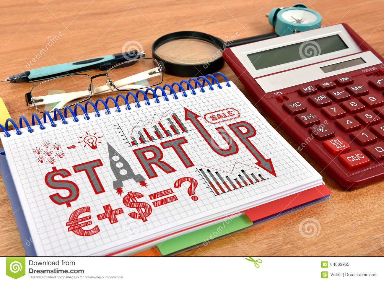 start up business calculator
