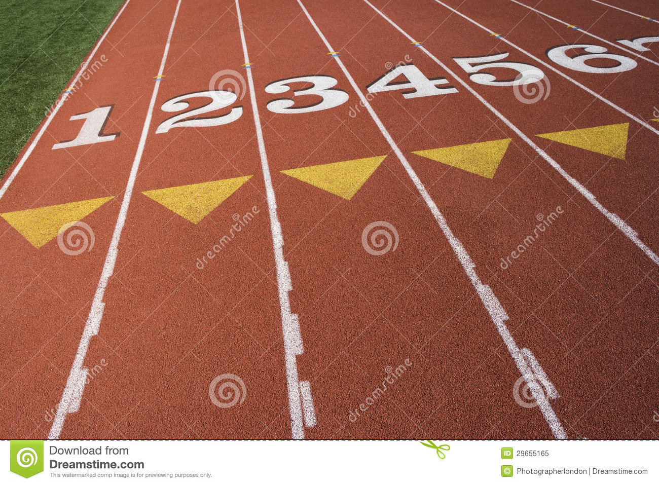 Http Www Dreamstime Com Royalty Free Stock Photo Starting Line Race Track Image29655165