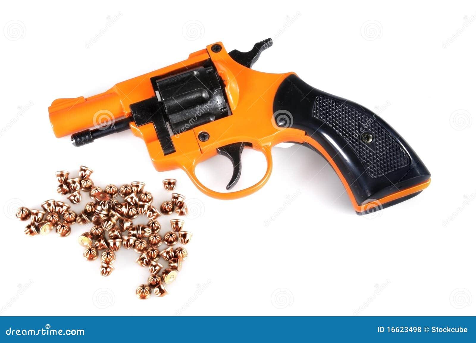 Starting Pistol and Blanks stock photo  Image of horizontal