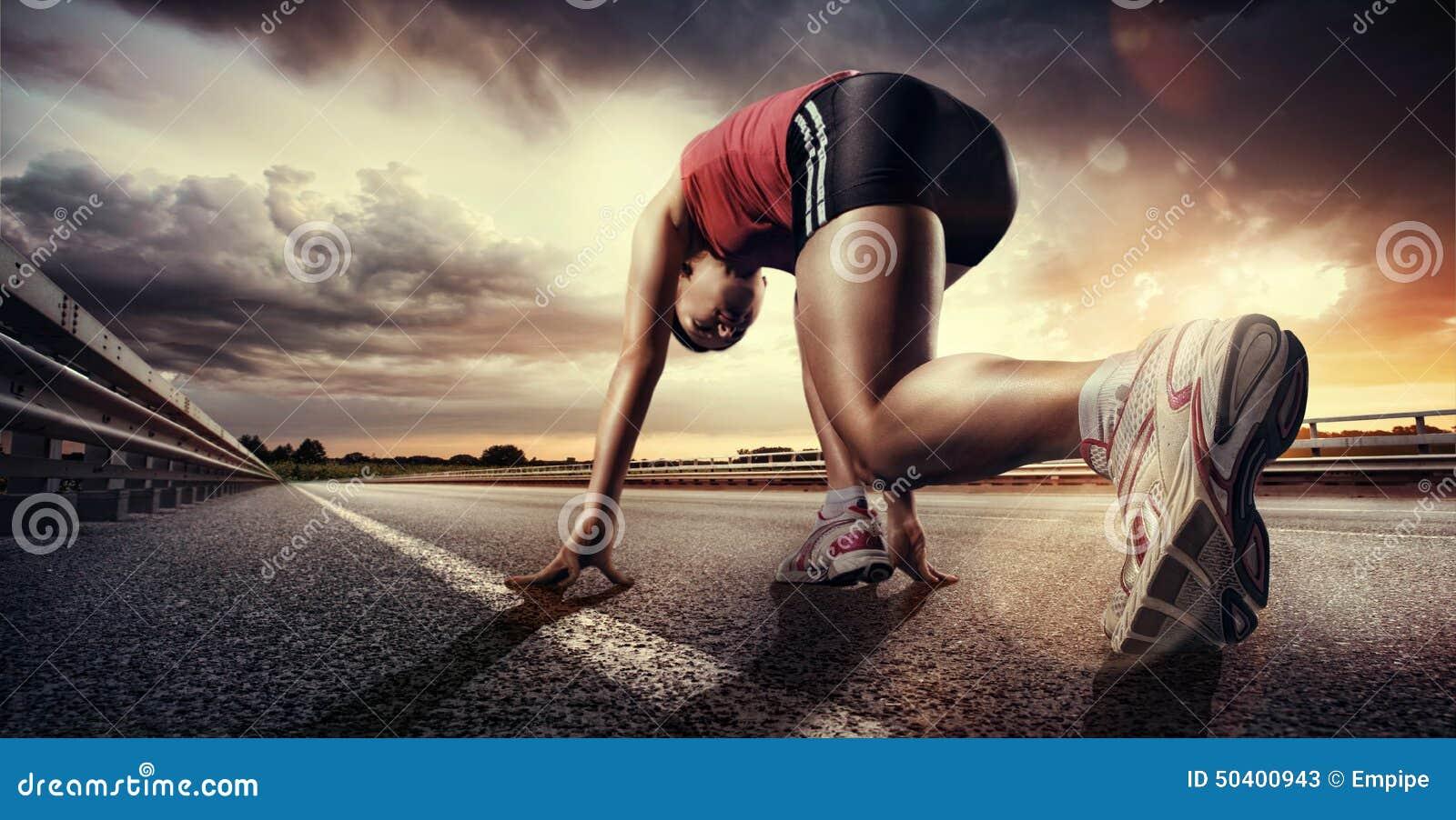Download Starting runner stock image. Image of motion, marathon - 50400943