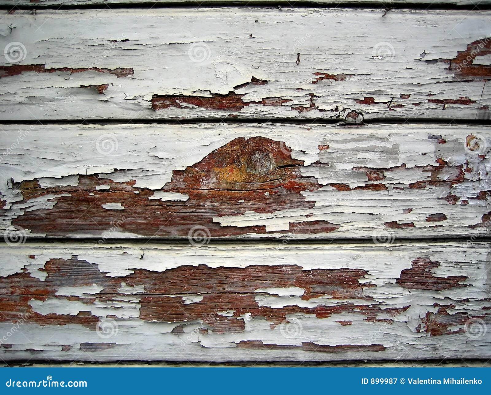 Stary ściana drewna