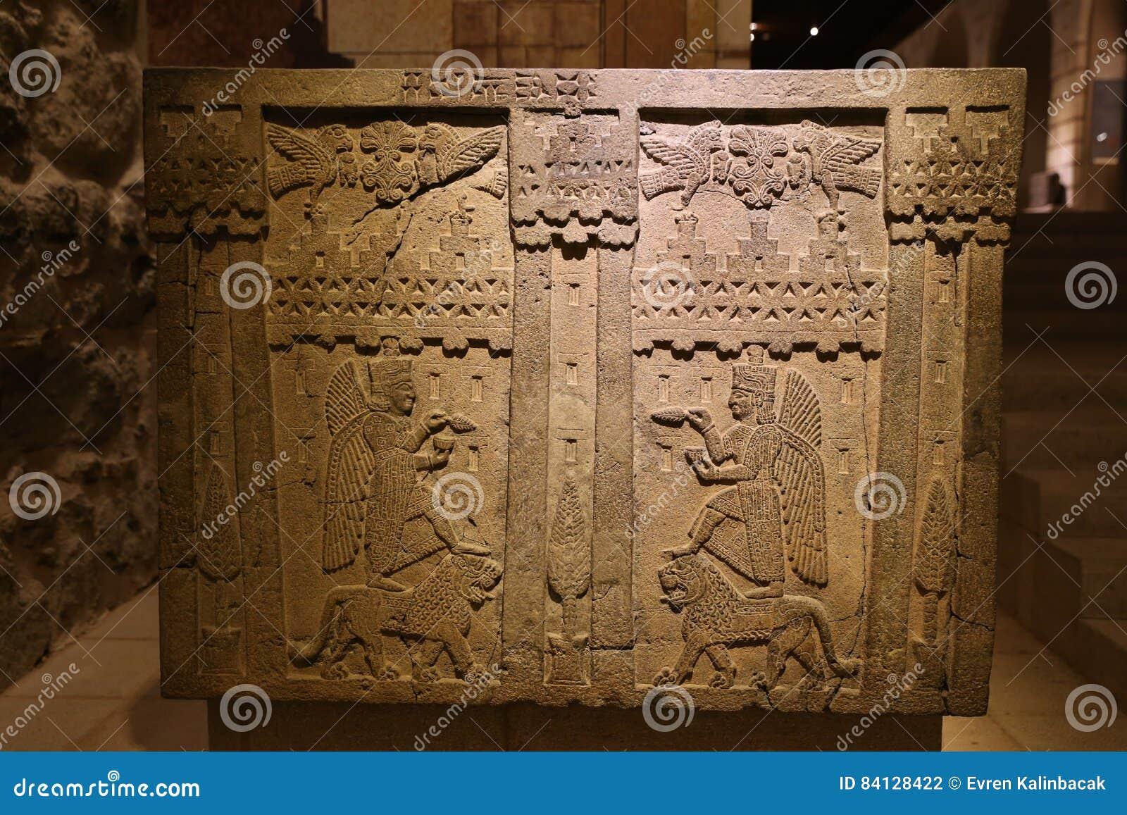 Stary cyzelowanie w muzeum Anatolian cywilizacje, Ankara
