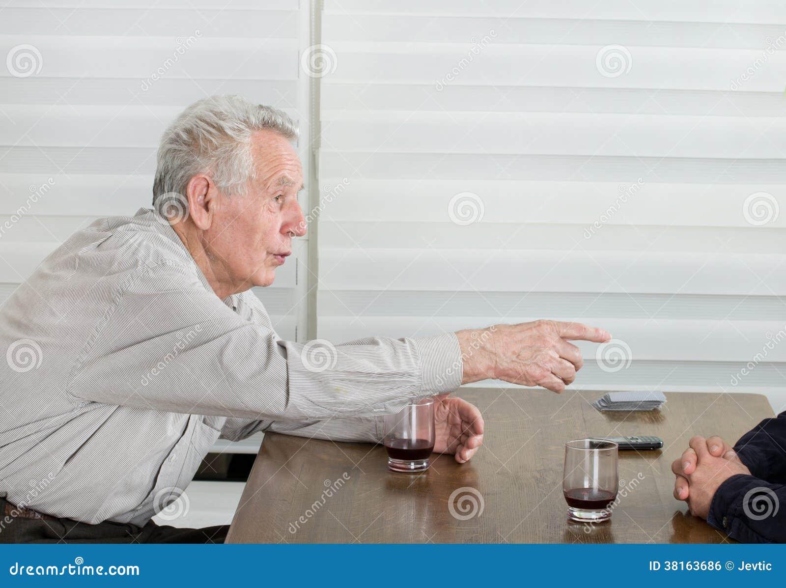 Stary człowiek opowieści