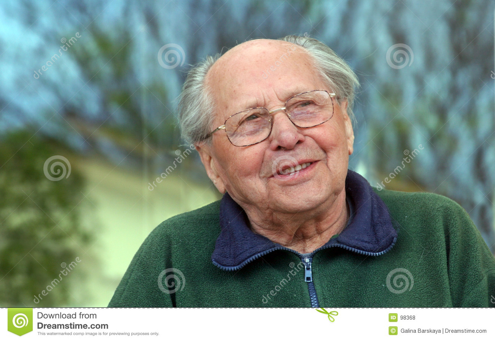 Stary człowiek z