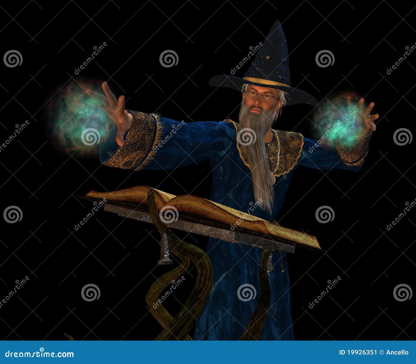 Stary czarownik