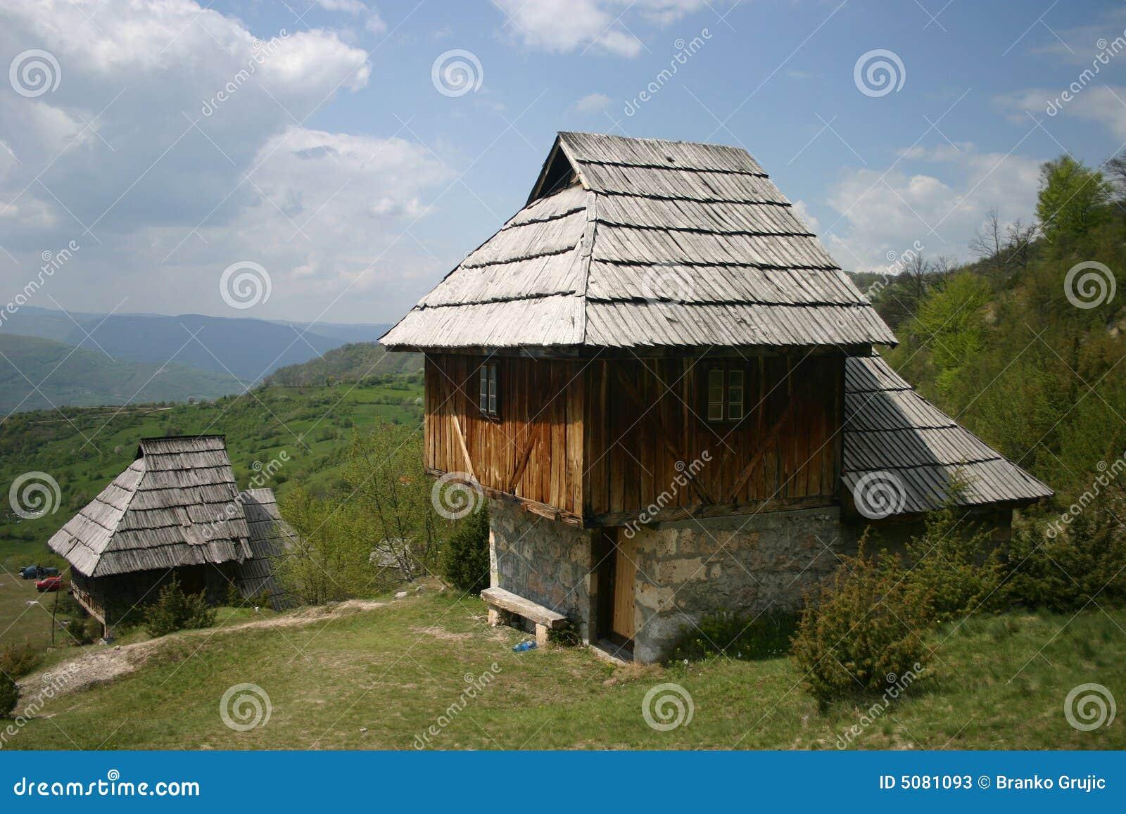 Stary dom serbskiego