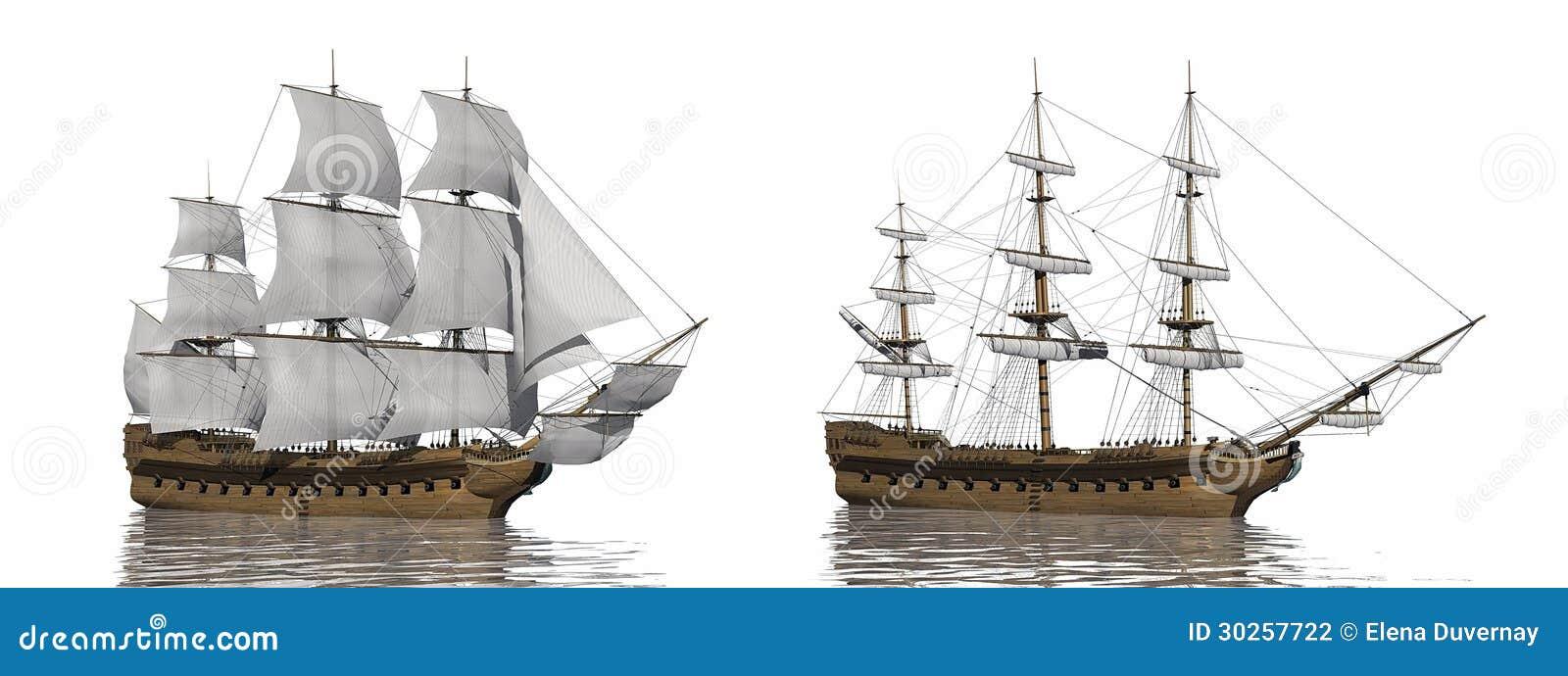 Stary handlowy statek - 3D odpłacają się