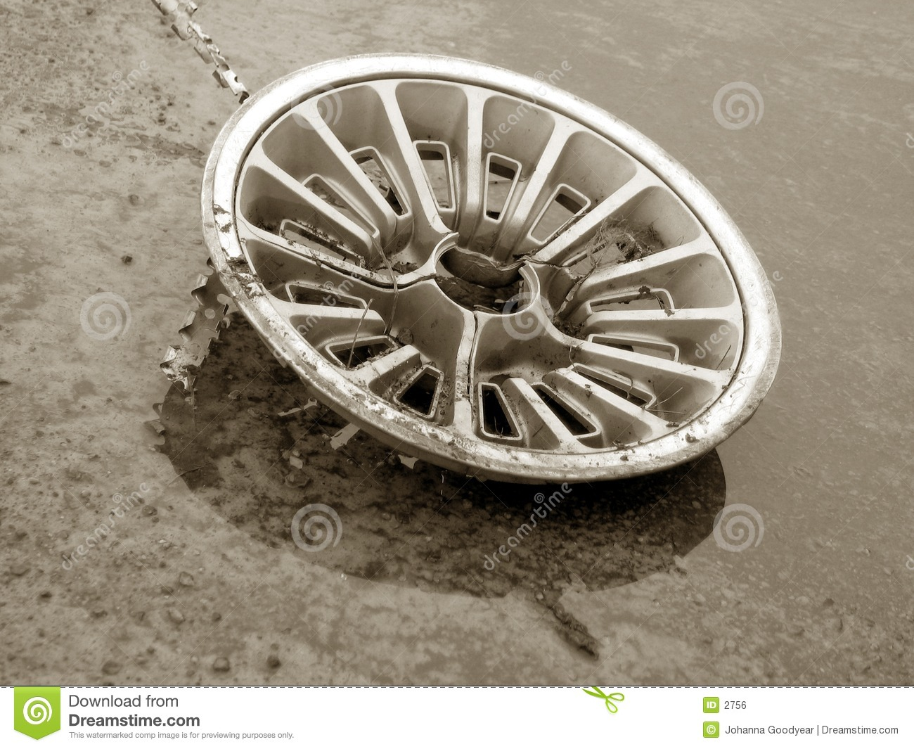 Stary hubcap