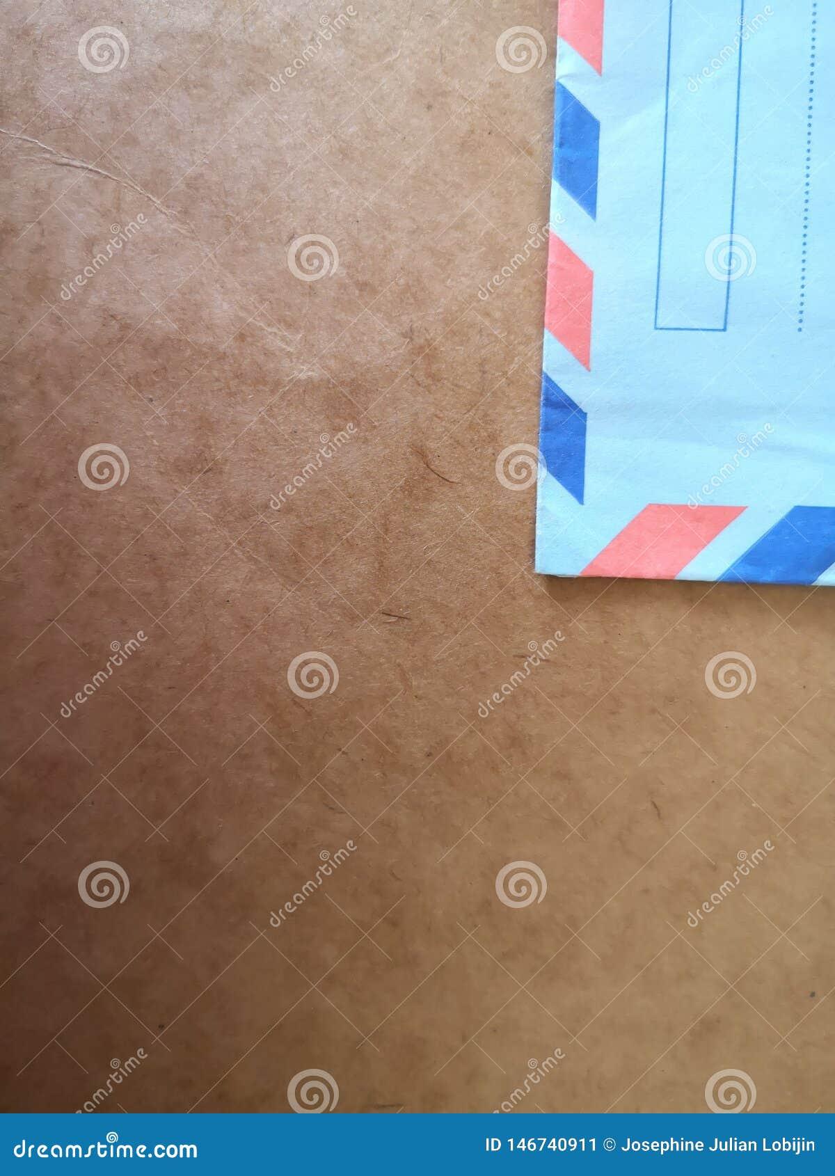 Stary i rocznik airmail koperty tło