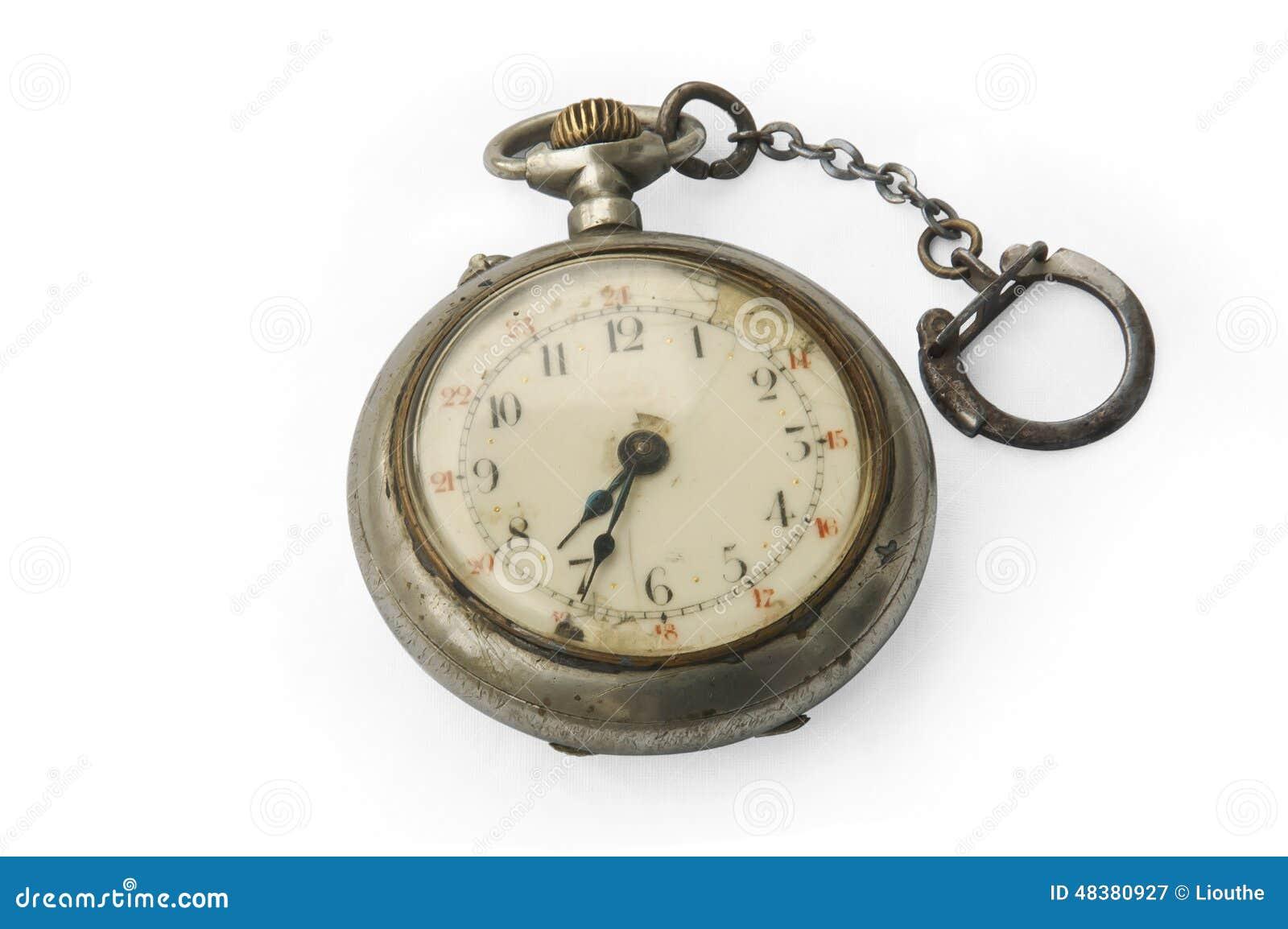 Stary kieszonkowy zegarek